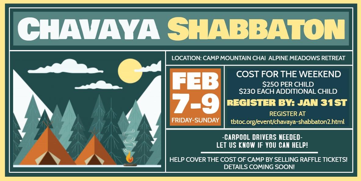 Banner Image for Chavaya Shabbaton