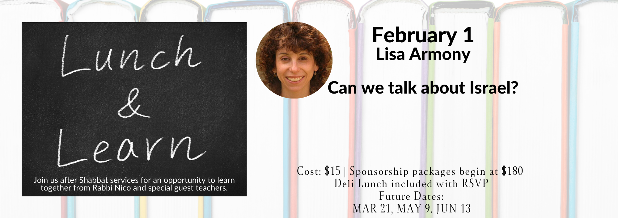 Banner Image for Lunch & Learn: Lisa Armony