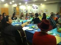 at the Women's Seder
