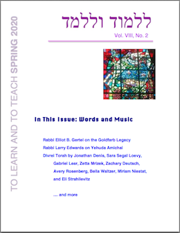 Spring 2020 Journal