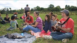 singing in the apple orchard 2015