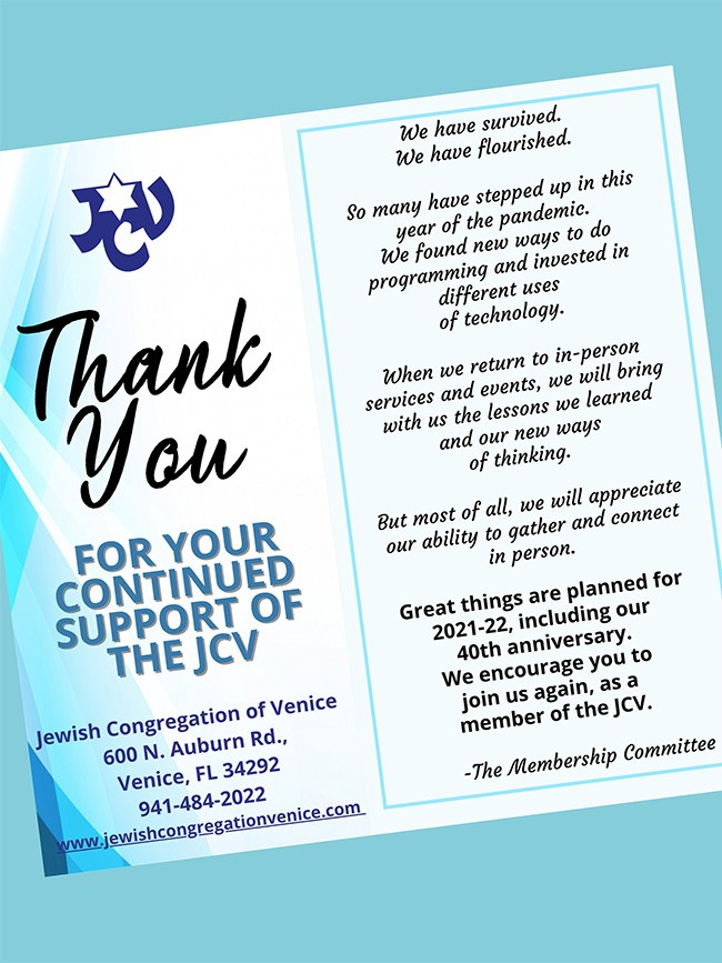JCV Thank You