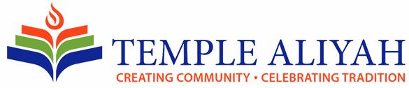 Logo for Temple Aliyah
