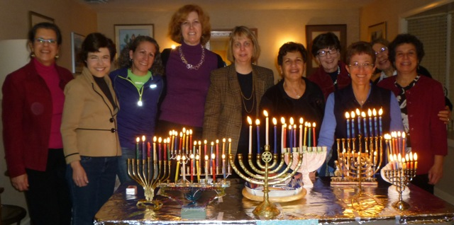 Rosh Hodesh Chanukah Lighting 2013