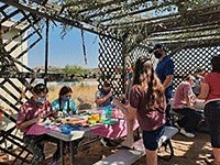 """<span class=""""slider_title"""">                                     One Room Shul House in the Sukkah                                </span>"""