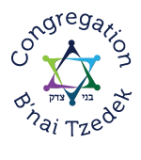 Logo for Congregation B'nai Tzedek