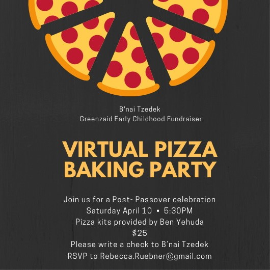 Banner Image for GECC Virtual Pizza Baking Party