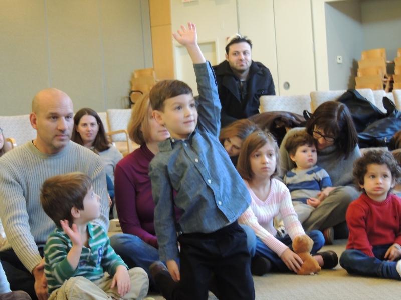 Children Learning at B'nai Tzedek Synagogue in Potomac Maryland
