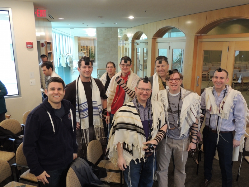 Brotherhood Service at B'nai Tzedek Synagogue in Potomac Maryland