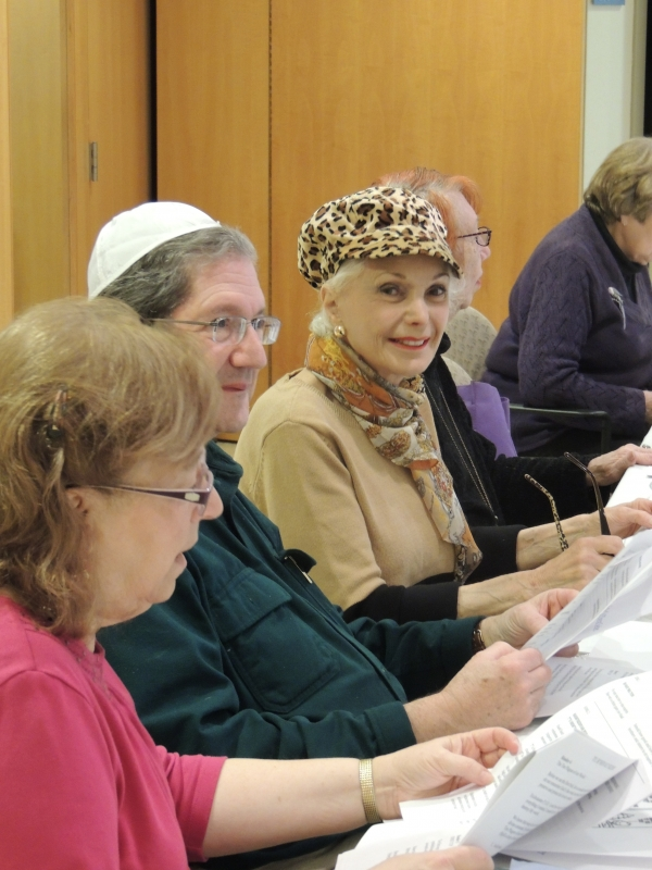 Adult learning at B'nai Tzedek Synagogue in Potomac Maryland