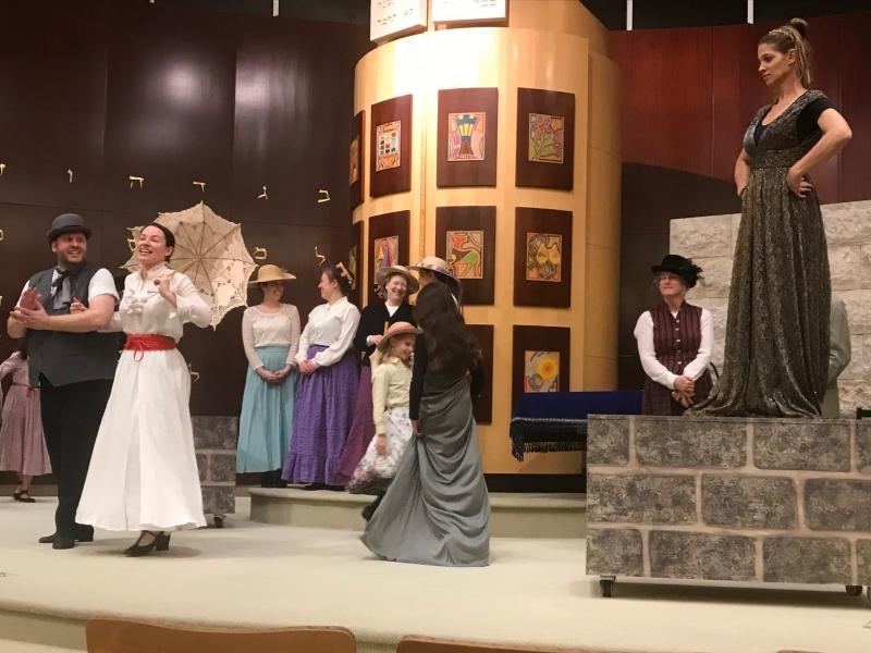 Mary Poppins at B'nai Tzedek Synagogue in Potomac Maryland