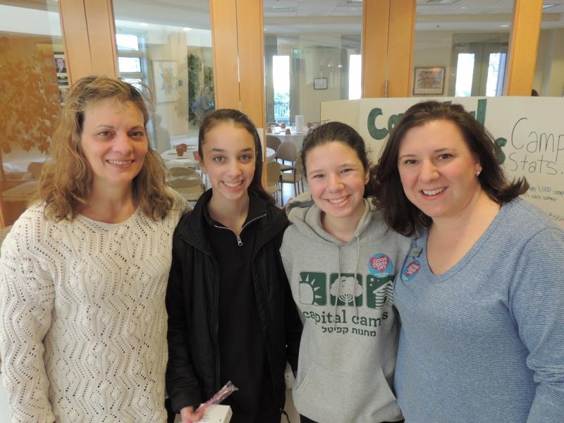 Good Deeds Day at B'nai Tzedek Synagogue in Potomac Maryland