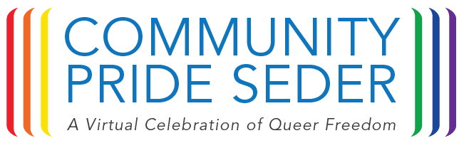 Banner Image for Community Pride Seder -  A Virtual Celebration of Queer Freedom