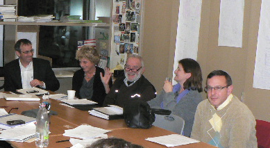 TAA Committees at a Board Meeting