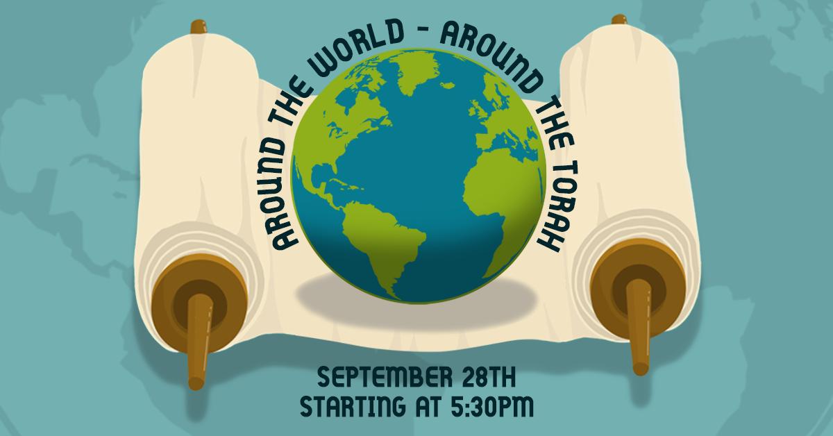 Simchat Torah:  Around the World - Around the Torah