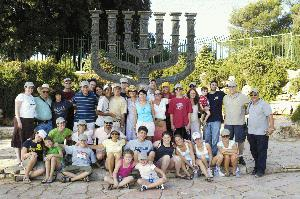 Members of the Pelham Jewish Center on one of our summer trips to Israel