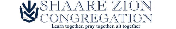 Logo for Shaare Zion Congregation