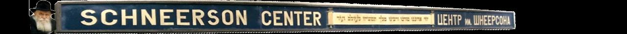 Logo for Schneerson Center