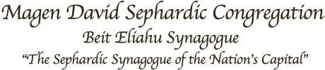 Logo for Magen David Sephardic Congregation