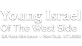 Logo for Young Israel of the West Side