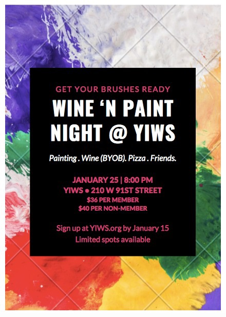 Banner Image for Wine 'N Paint Night