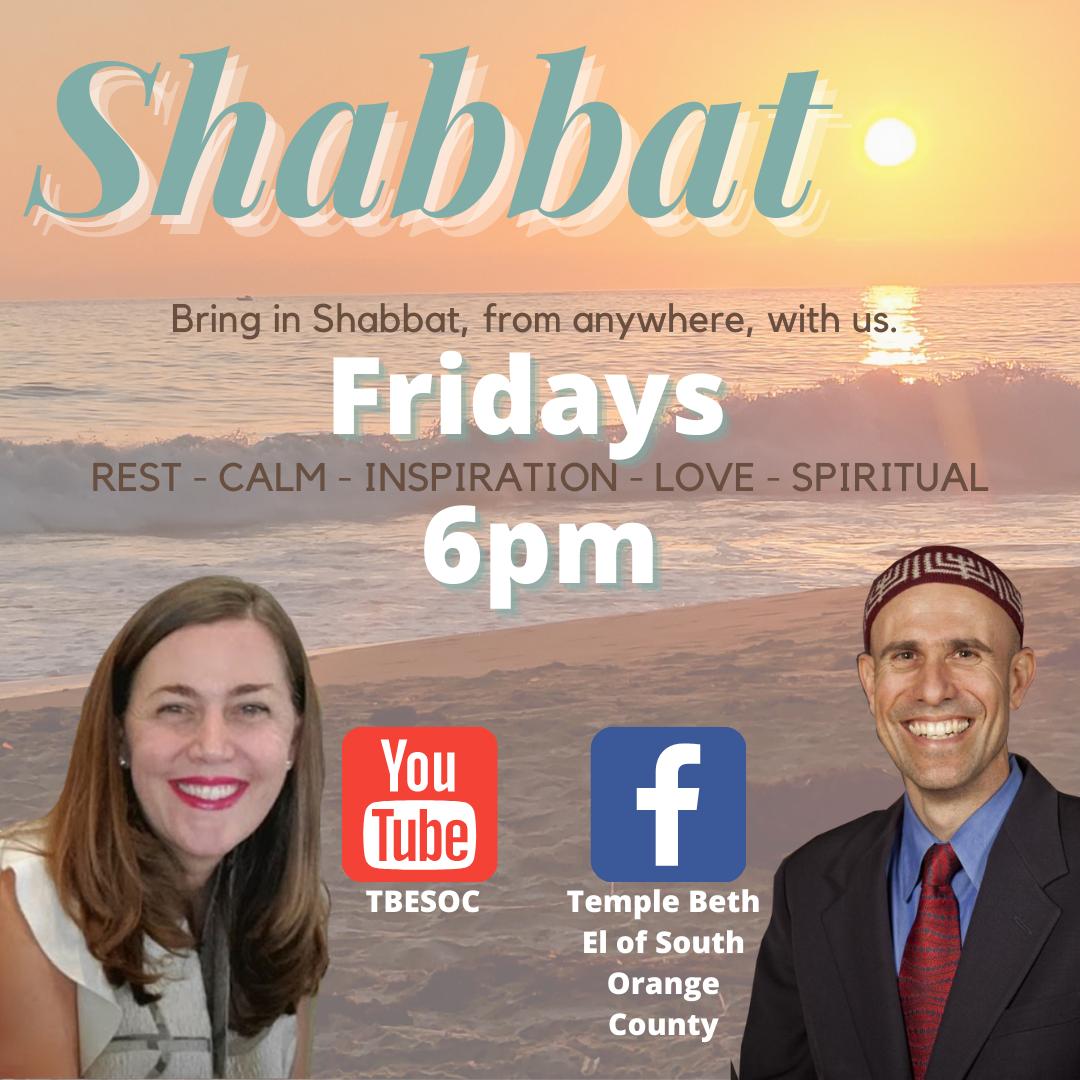 Join us for Shabbat