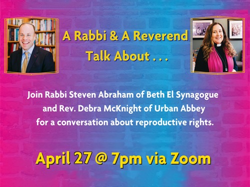 Banner Image for A Rabbi & A Reverend