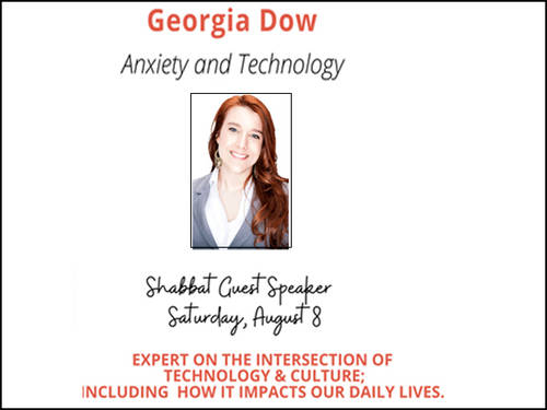 Banner Image for Shabbat Speaker Georgia Dow