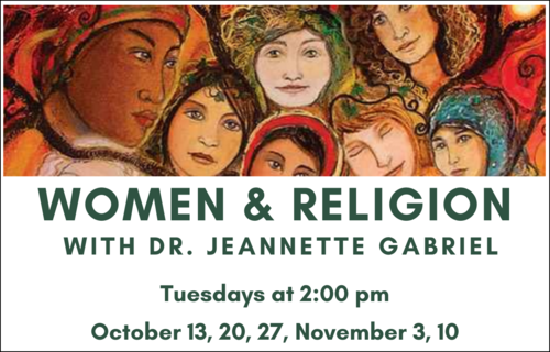 Banner Image for Women & Religion with Jeannette Gabriel