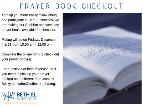 Banner Image for Prayer Book Checkout