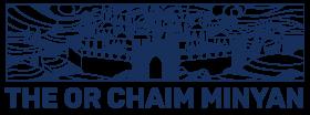 Logo for Or Chaim Minyan