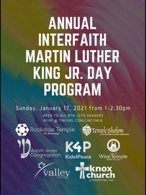 Banner Image for Annual Teen Martin Luther King Jr. Day Program