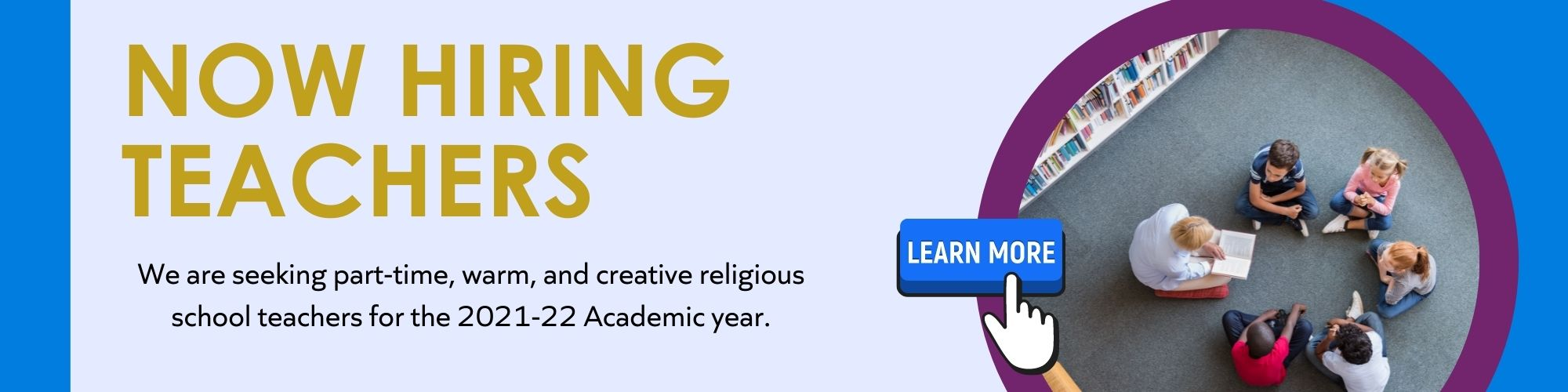 """<a href=""""https://www.adath-israel.org/careers.html""""                                     target=""""_blank"""">                                                                 <span class=""""slider_title"""">                                     Now Hiring -Part-time Teachers                                </span>                                                                 </a>                                                                                                                                                                                       <span class=""""slider_description"""">Teachers should have experience teaching Hebrew and possess proficient knowledge and the ability to teach mitzvot, Torah, history, and holidays using experiential and engaging classroom techniques.</span>                                                                                     <a href=""""https://www.adath-israel.org/careers.html"""" class=""""slider_link""""                             target=""""_blank"""">                             Learn more or to apply click here                            </a>"""