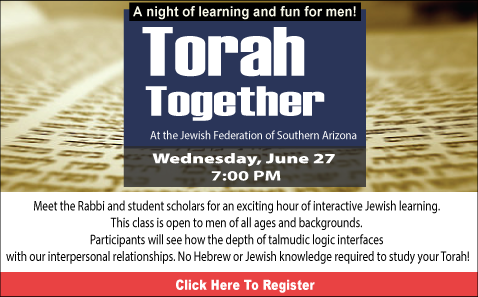 Torah Together @ Jewish Federation of Southern Arizona | Tucson | Arizona | United States