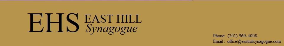 Logo for East Hill Synagogue