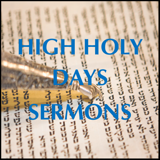 Sermons from the High Holy Days