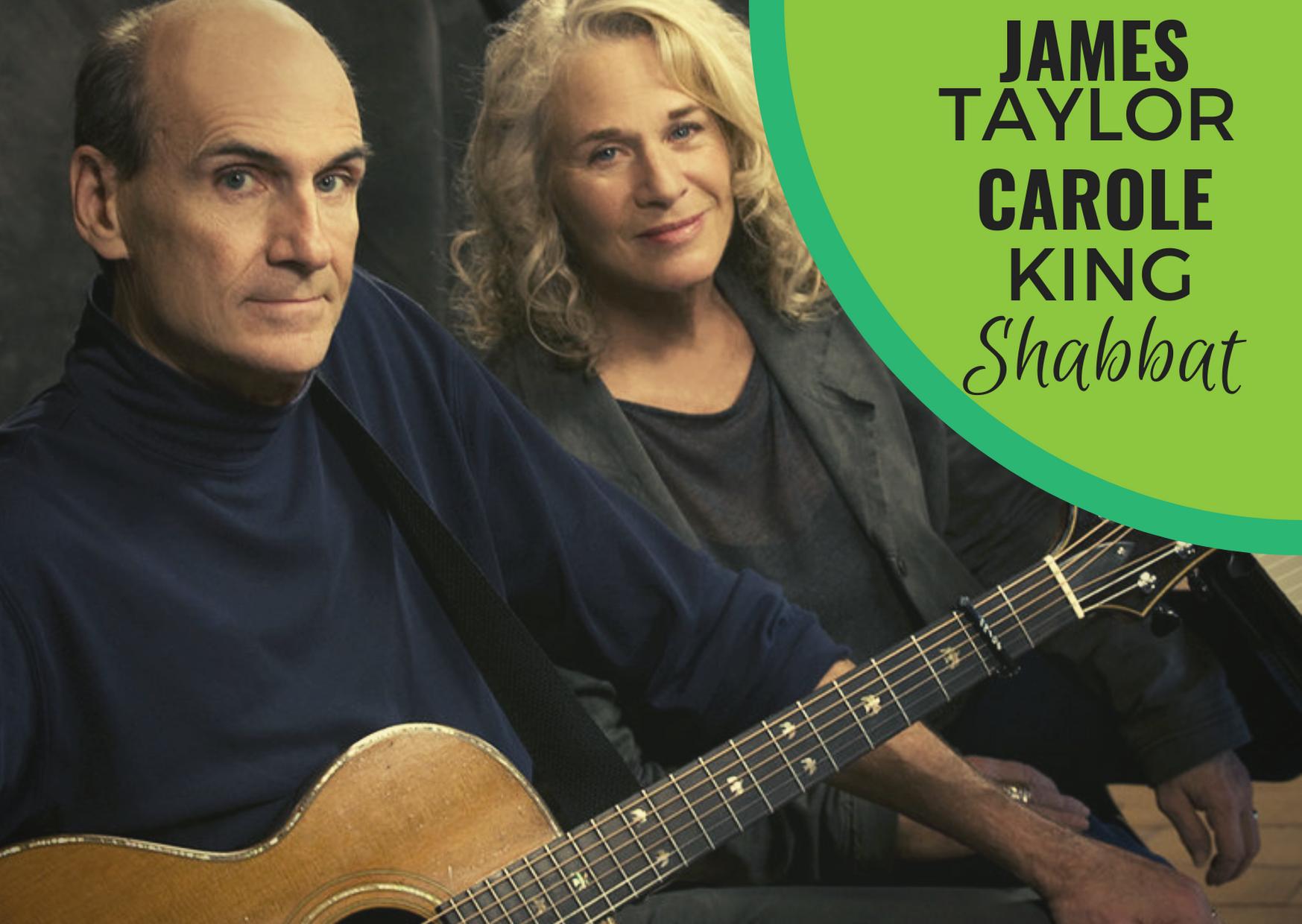 Banner Image for James Taylor & Carole King Music Shabbat