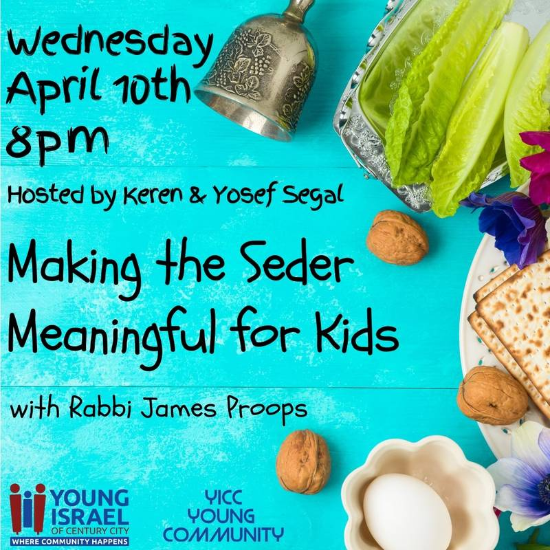 Banner Image for Making the Seder Meaningful for Kids