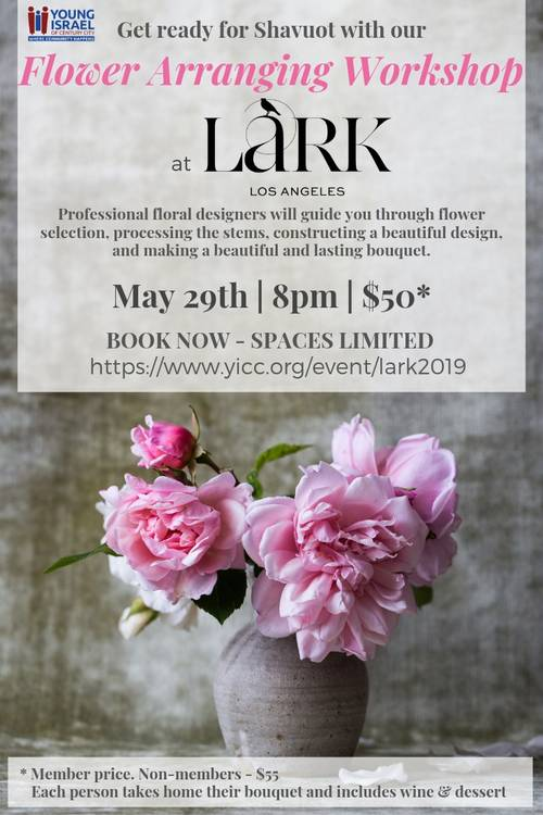 Banner Image for Flower Arranging at Lark