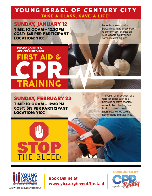 Banner Image for First Aid Class