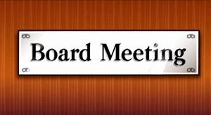 Banner Image for Board Meeting