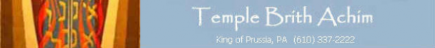 Logo for Temple Brith Achim