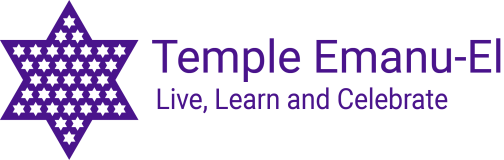 Logo for Temple Emanu-El (Edison)