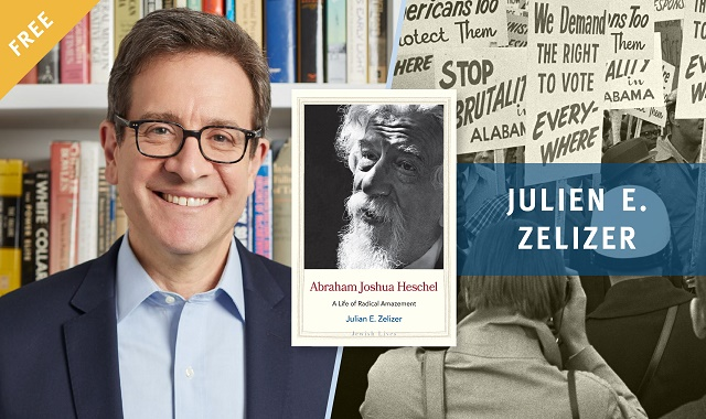 "<span class=""slider_title"">                                     Abraham Joshua Heschel: A Life of Radical Amazement                                </span>                                                                                                                                                                                       <span class=""slider_description"">Book Talk with Author Julien E. Zelizer</span>"