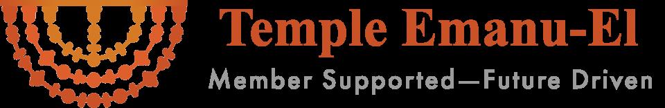 Logo for Temple Emanu-El