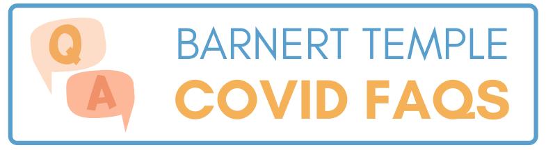 COVID FAQs Button