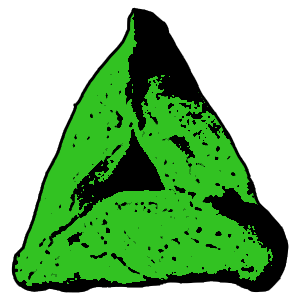 Green Hamantaschen