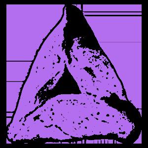 Purple Hamantaschen