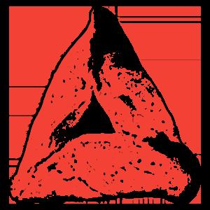 Red Hamantaschen