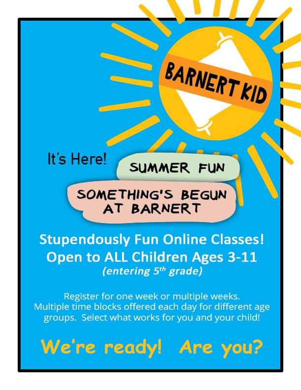 Barnert Summer Camp 2020